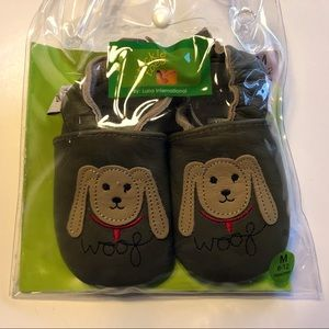 Tickle Toes Leather shoes 6-12 Months NWT